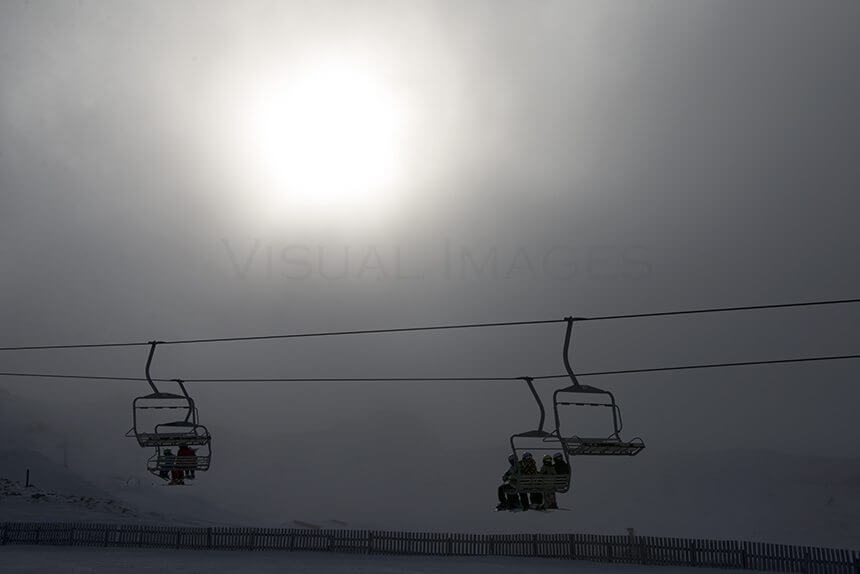 Cardrona Lift silhouette