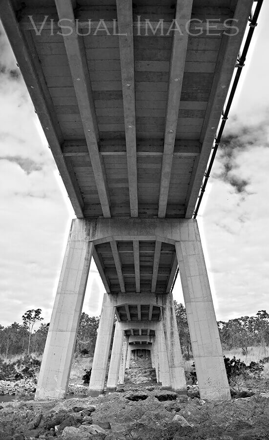 Under the bridge at Rockhampton Camp site