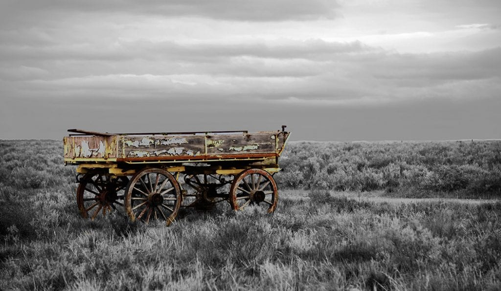 Old cart Photo Withstanding Time